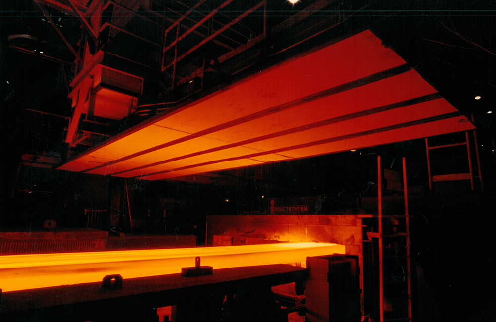 Inductotherm Slab Heating Reheating Systems